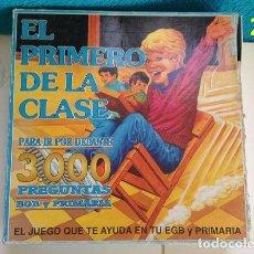 Juguetes antiguos: ANTIGUO JUEGO EL PRIMERO DE LA CLASE. Lote 137803198