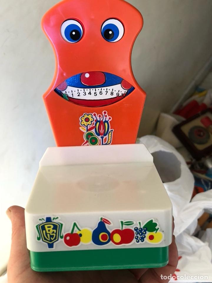 Juguetes antiguos: Báscula de juguete nueva, en su caja, bernabeu gisbert - Foto 2 - 137816124