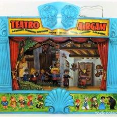 Juguetes antiguos - Airgam Gran teatro + Cuento completo y personajes de Caperucita Roja - 138290282