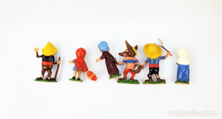 Juguetes antiguos: Airgam Gran teatro + Cuento completo y personajes de Caperucita Roja - Foto 25 - 138290282