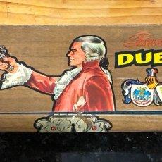 Juguetes antiguos: PISTOLA DE JUGUETE DE DUELO GONZÁLEZ EN SU CAJA. Lote 138661753