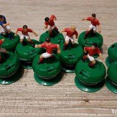 Juguetes antiguos: 11 JUGADORES DE SUBBUTEO ANTIGUOS. Lote 138994206