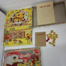 Juguetes antiguos: JUEGO DE MESA EL ASALTO DE BORRAS. DIBUJOS DE TOLEDANO. Lote 139096710