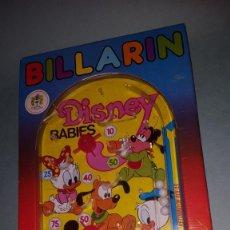 Juguetes antiguos: BILLARIN PIN BALL FLIPPER DISNEY DE PIQUE. Lote 139442638