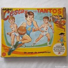 Juguetes antiguos: JUEGO MINI CESTA Y TANTOS, PSE, ELECTRÓNICO, AÑOS 60-70. Lote 140116528