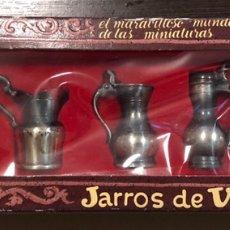 Juguetes antiguos: PACK JARRONES DE COLECCIÓN PLAY ME. Lote 140130080