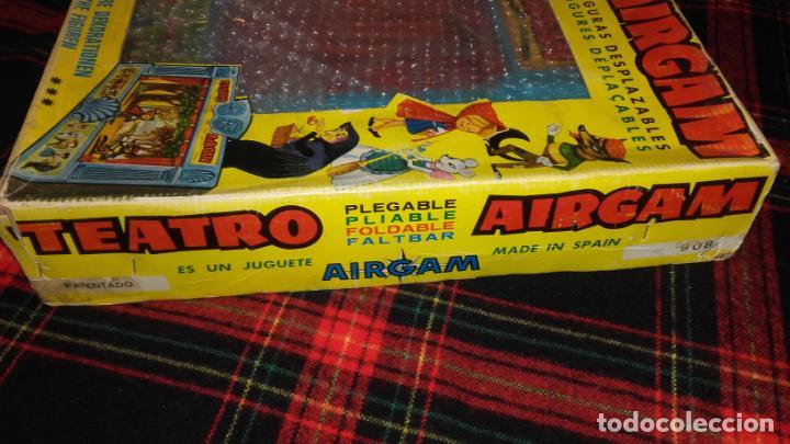 Juguetes antiguos: AIRGAM TEATRO GRANDE AIRGAM COMPLETO, CUENTOS TEATRO AIRGAM, JUGUETE ANTIGUO, TEATRO ANTIGUO - Foto 5 - 140470198