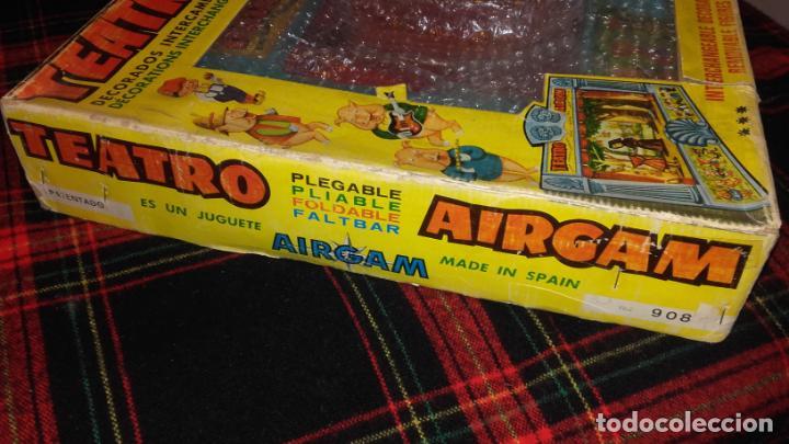 Juguetes antiguos: AIRGAM TEATRO GRANDE AIRGAM COMPLETO, CUENTOS TEATRO AIRGAM, JUGUETE ANTIGUO, TEATRO ANTIGUO - Foto 6 - 140470198