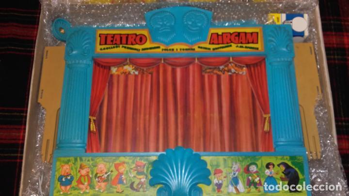 Juguetes antiguos: AIRGAM TEATRO GRANDE AIRGAM COMPLETO, CUENTOS TEATRO AIRGAM, JUGUETE ANTIGUO, TEATRO ANTIGUO - Foto 9 - 140470198