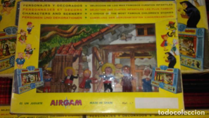 Juguetes antiguos: AIRGAM TEATRO GRANDE AIRGAM COMPLETO, CUENTOS TEATRO AIRGAM, JUGUETE ANTIGUO, TEATRO ANTIGUO - Foto 18 - 140470198