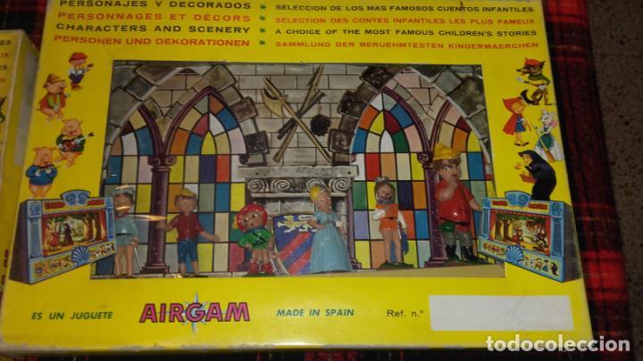 Juguetes antiguos: AIRGAM TEATRO GRANDE AIRGAM COMPLETO, CUENTOS TEATRO AIRGAM, JUGUETE ANTIGUO, TEATRO ANTIGUO - Foto 20 - 140470198