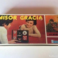Juguetes antiguos: JUGUETE EMISOR GRACIA NUEVO. Lote 140594922
