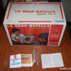 Juguetes antiguos: LA GRAN BATALLA GRACIA FUNCIONANDO. Lote 140743994