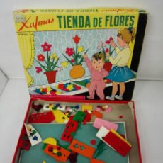 Juguetes antiguos: JUEGO DE MESA TIENDA DE FLORES DE XAFMAS. AÑOS 60. Lote 140771262