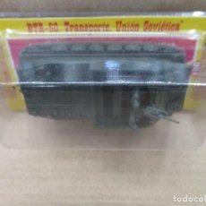 Juguetes antiguos: TANQUE EKO - BTR 50 UNION SOVIETICA - REFERENCIA 4021 - ESCALA H0- SIN ABRIR. Lote 140890750