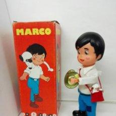 Juguetes antiguos: MARCO DE LOS APENINOS A LOS ANDES, SERIE TV AÑOS 70. CON PLATILLOS Y SU MONO AMEDIO. FUNCIONA.. Lote 140908730