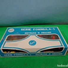 Juguetes antiguos: MARCA PAYVA -FORMULA 1 METALICO A FRICCION- NUEVOS A ESTRENAR . Lote 141651442