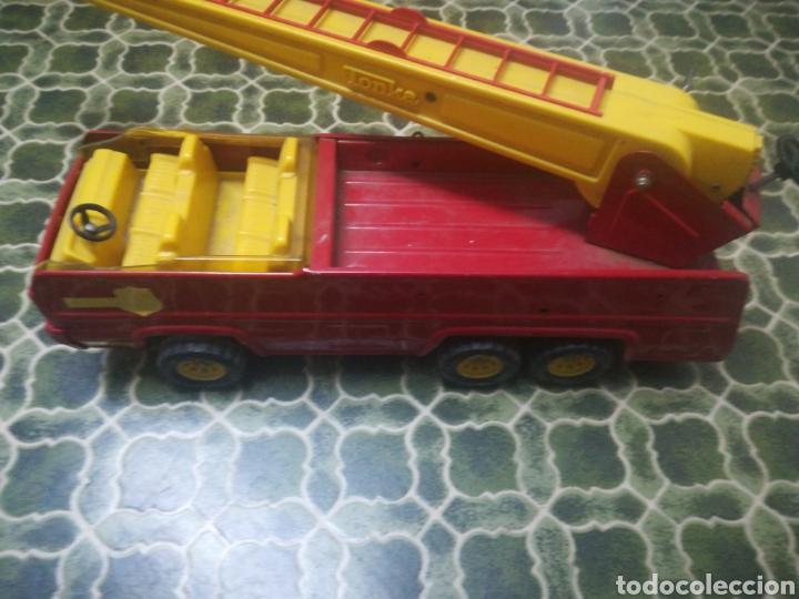 Juguetes antiguos: Antiguo camión de bomberos de Tonka. (Similar a Rico Sanchis o Paya) - Foto 3 - 191085981