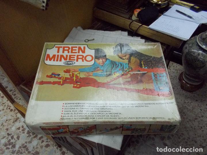 TREN MINERO GEYPER (Juguetes - Marcas Clasicas - Otras Marcas)