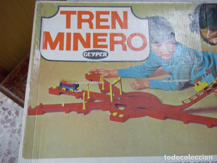 Juguetes antiguos: tren minero geyper - Foto 3 - 141813966