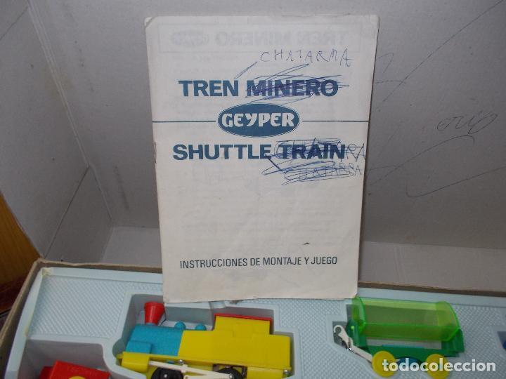 Juguetes antiguos: tren minero geyper - Foto 11 - 141813966