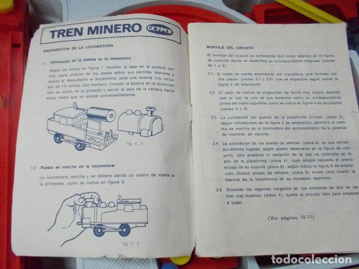 Juguetes antiguos: tren minero geyper - Foto 14 - 141813966