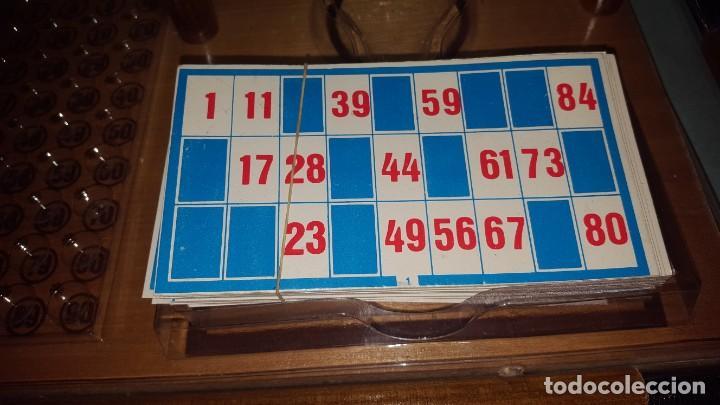 Juguetes antiguos: LOTERIA-BINGO de AGUILAR - ESTRUCTURA de MADERA y METAL - Foto 3 - 142319006