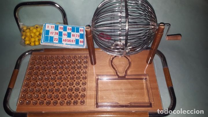 Juguetes antiguos: LOTERIA-BINGO de AGUILAR - ESTRUCTURA de MADERA y METAL - Foto 6 - 142319006