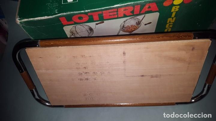 Juguetes antiguos: LOTERIA-BINGO de AGUILAR - ESTRUCTURA de MADERA y METAL - Foto 13 - 142319006