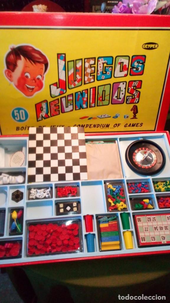 Juegos Reunidos Geyper Caja Grande Anos 70 Comprar Juguetes