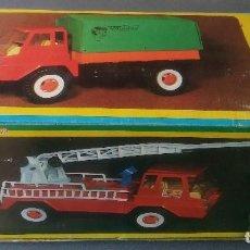 Juguetes antiguos - Camión bomberos Molto ref 186 - 143822786
