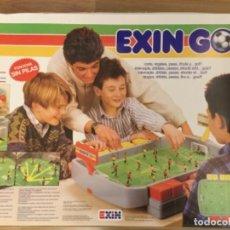 Juguetes antiguos: EXIN GOL. 1988. NUEVO. . Lote 143920758