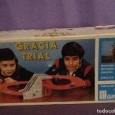 Juguetes antiguos: PISTA GRACIA TRIAL . Lote 144064522