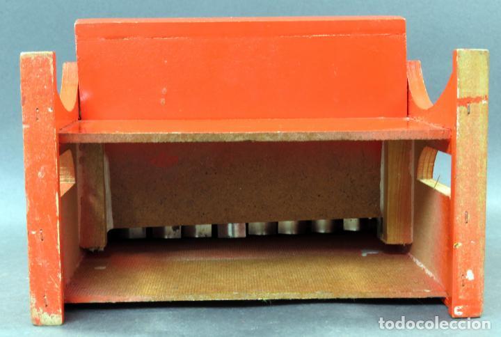 Juguetes antiguos: Piano madera y plástico Juguetes Mediterráneo años 60 - Foto 6 - 144118082
