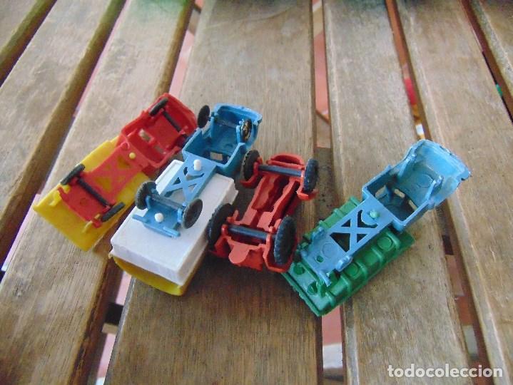 Juguetes antiguos: LOTE DE CAMIONES EN PLASTICO ALGUNOS A FRICCION GEYPER Y OTRAS MARCAS - Foto 4 - 144245370