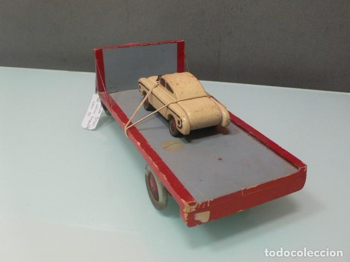 Y Vendido Baquelita D En Coche Art Venta JupMadera Con Camion N8nOZkXPw0