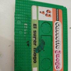 Juguetes antiguos: CASSETTE JUEGO MAGNETICO EL SUPER MAGO DE CHICOS. Lote 145079530