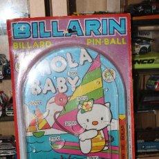Juguetes antiguos: BILLARIN PIN- BALL JUGUETES PIQUE AÑOS 80. Lote 145737346