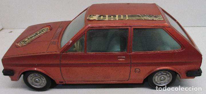 Juguetes antiguos: coche FORD FIESTA, de PLÁSTICOS ALBACETE P.A. , años 70-80, fricción - Foto 4 - 145769914