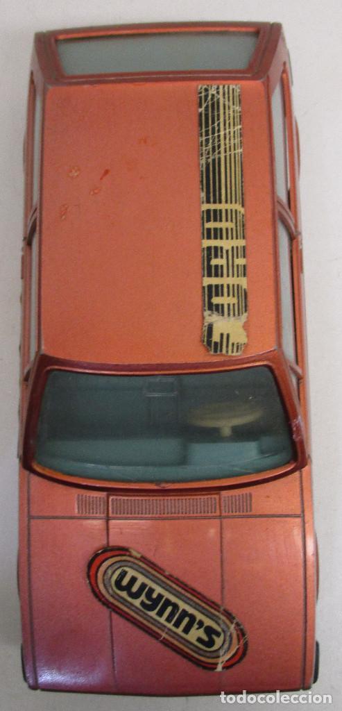 Juguetes antiguos: coche FORD FIESTA, de PLÁSTICOS ALBACETE P.A. , años 70-80, fricción - Foto 5 - 145769914