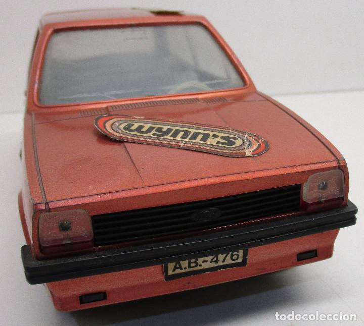 Juguetes antiguos: coche FORD FIESTA, de PLÁSTICOS ALBACETE P.A. , años 70-80, fricción - Foto 6 - 145769914