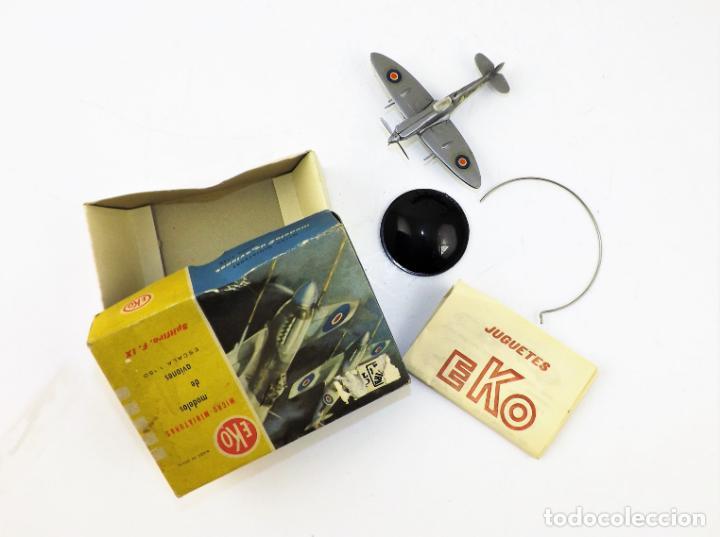 Juguetes antiguos: Eko original. Spitfire F-IX - Foto 2 - 145847370