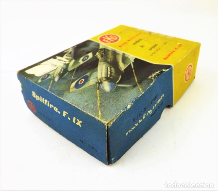 Juguetes antiguos: Eko original. Spitfire F-IX - Foto 6 - 145847370