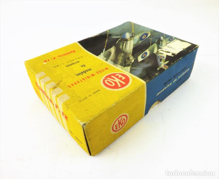 Juguetes antiguos: Eko original. Spitfire F-IX - Foto 7 - 145847370