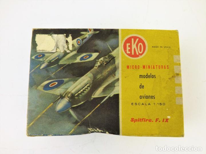 Juguetes antiguos: Eko original. Spitfire F-IX - Foto 8 - 145847370