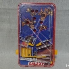 Juguetes antiguos: JUEGO MINI PINBALL PIN BALL GALAXY DE OBERTOYS - MADE IN SPAIN AÑOS 80. Lote 146719914
