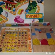 Juguetes antiguos: GOULA JUEGO DE CONSTRUCCION ARQUITECTURA GARAJES. Lote 148375078