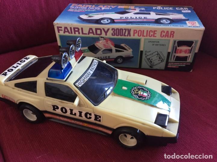 90nuevo pvc Caja Fairlady Zxpolice Electrico Rico Car no toys En In 300 Made Coche TaiwanAños F31clKTJ
