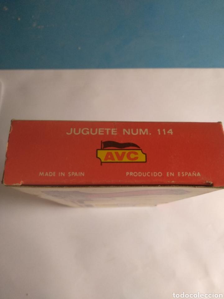Juguetes antiguos: Pistola juguete Luger Cal 765 especial con silenciador ,marca AVC hecho en Ibi España - Foto 11 - 148773621