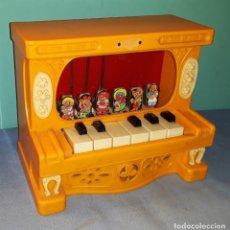 Juguetes antiguos: ANTIGUO PIANO REIG AÑOS 70 VER FOTOS Y DESCRIPCION. Lote 175477023